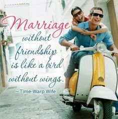 A Marriage Without Friendship is Like a Bird Without Wings. Friendship is such a very important part of marriage. So here are some inspiring ways to build a lasting friendship!