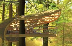 Perfect Getaway Space In This Amazing Tree Houses (7)