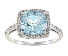 10k White Gold Cushion Blue Topaz and Diamond Ring (1/4 TDW), http://www.amazon.com/dp/B008KPJPJ4/ref=cm_sw_r_pi_awd_YO4osb13AH1B6