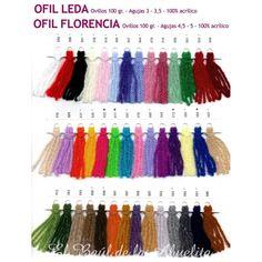 Muestrario lanas Ofil