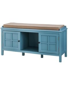 Threshold Windham Entryway Bench   Teal (Blue)   Threshold From Target