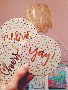 """wannabesouthernsocialite: """" Hobby Lobby's coaster game is strong """""""