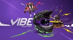 We were invited to create 3 different videos to promote the Vibe Energy Drink. The main concept was the impact of Vibe's energy on real life objects and how it transforms them to become extreme Vibe Comics, Frame By Frame Animation, Video Team, 3d Animation, Motion Design, Creative Director, Art Director, Motion Graphics, Energy Drinks