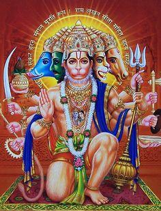 10 Best Panchmukhi Hanuman Images Hanuman Images Hanuman