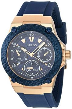 Shop the latest collection of Guess Watches Women's -Rose Gold Watch from the popular stores - all in one Stylish Watches, Luxury Watches For Men, Cool Watches, Guess Watches, Cheap Watches, Casual Watches, Breitling Watches Women, Online Watch Store, Expensive Watches