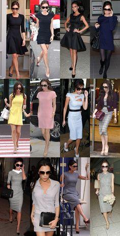 Alelubets: Vestidos de Victoria Beckham