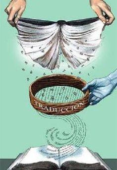 La traducción literaria | Img: Fernando Vicente. http://fernandovicenteblog.blogspot.pt/2011/01/mis-portadas-de-babelia_3178.html @ En la luna de Babel. http://bit.ly/vicenteTraducciónLiteraria