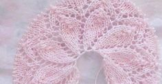 I leave the tutorial of this double crown. A kiss … - Everything About Knitting Baby Knitting Patterns, Love Knitting, Knitting For Kids, Knitting Stitches, Hand Knitting, Crochet Patterns, Crochet Baby Booties, Knit Or Crochet, Crochet For Kids