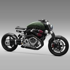 On August 28, 2013, Confederate Motorcycle's X132 Hellcat Combat hit a blistering pace on the salt flats of Bonneville with a top speed of 177.596 mph. That mark set a new land speed record for unfaired, naturally aspirated, pushrod V-twins over 2000cc. Turn heads with your own tough, lean and fast custom Hellcat Combat motorcycle.
