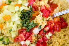SALATA CLASICA DE CUS-CUS | Diva in bucatarie Risotto, Ethnic Recipes, Food, Diet, Meal, Essen, Hoods, Meals, Eten