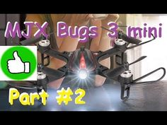Классный квадрик MJX Bugs 3 mini | FPV апгрейд и полёты в ACRO
