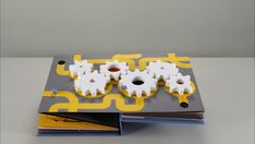 MAKI:minimag_Stop Motion Pop-up book: A drop of water