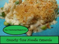 Crunchy Tuna Noodle Casserole on MyRecipeMagic.com