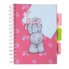 A5 Me to You Bear Vintage Pad with Dividers & Pockets