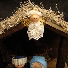 Natividad Set 11 piezas entre Handcrafted Por SweetPeasGarden