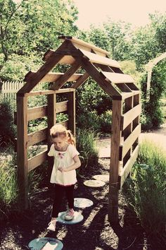 pallet playhouse tiny recycled diy shack fort side of house with clematis or c., a pallet playhouse tiny recycled diy shack fort side of house with clematis or c., a pallet playhouse tiny recycled diy shack fort side of house with clematis or c. Outdoor Play Spaces, Outdoor Fun, Outdoor Ideas, Pallet Ideas For Outside, Kids Outdoor Play, Natural Outdoor Playground, Outdoor Decor, Diy Pallet Projects, Outdoor Projects