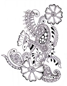3534d38996a976c538a441c30eab715f Paisley Coloring Pages Doodle Zen
