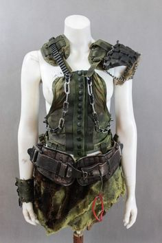 Post Apocalyptic Clothing, Post Apocalyptic Costume, Post Apocalyptic Fashion, Mad Max, Apocalypse Fashion, Zombie Apocalypse Gear, Dystopia Rising, Dystopian Fashion, Cool Outfits