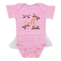 Gold Dragonfly Monogram on CafePress.com Baby Monogram, Monogram Design, Label Machine, Baby Tutu, Tiny Dancer, Tulle Tutu, Baby Bodysuit, Nursery Decor, Kids Fashion