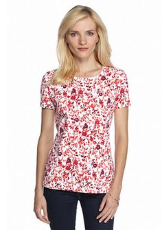 Kim Rogers® Floral Top
