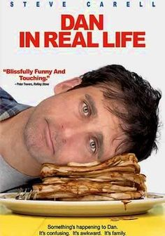 Dan in Real Life (2007) In this romantic comedy from director Peter Hedges, advice columnist and widowed father of three Dan Burns meets a new woman who's beautiful and smart -- but she also happens to be the girlfriend of Dan's brother, Mitch.