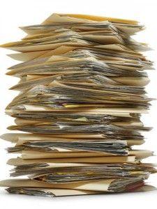 Top ten tips for paper organization.
