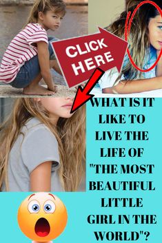 What is it Like to Live the Life of Beautiful Little Girls, Most Beautiful, Thylane Blondeau, Photo Composition, Graphic Design Software, Photo Effects, Single Women, Photo Manipulation, The Life