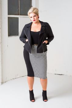 The Curvy Fashionista | Plus size designer HARLOW Australia Fall 2014 Look Book on The Curvy Fashionista