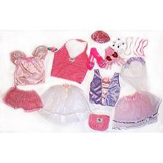 Amazon.com: Dress Up For Girls Princess Trunk 26 Pieces(Jewlery to Shoes): Toys & Games