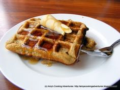 Amy's Cooking Adventures: Buttermilk Zucchini Waffles