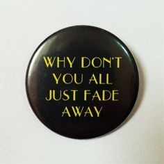 Rex Manning Empire Records Quote Button Pin /badge by LazyMice