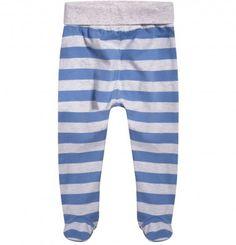 Ubranka dla niemowlaka: http://endo.pl/dla-niemowlaka Endo ubranka dla dzieci  Spodnie-półśpiochy w paski dla niemowlaka N52N006_1