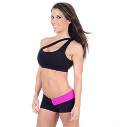 Our One Shoulder Sports Bra is our number one seller, and for good reason. The sleek lines make this a truly one-of-a-kind look that's exclusive to Affitnity.