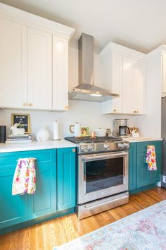 21 best turquoise kitchen cabinets images house decorations rh pinterest com