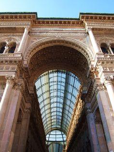 galleria vittorio emanuele, milano, mailand, bogen