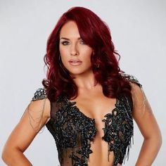 sharnas red hair from dancing with the stars week ten - Google Search