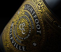 Lightfoot and Wolfville Limited Rosé — The Dieline - Branding & Packaging Design