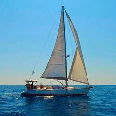 Sailing with our boat FAFOS II