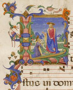 Cristo benedicente un martire autore: Zanobi Strozzi e Filippo di Matteo Torelli tecnica: tempera e pennello