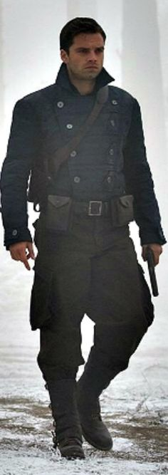 Bucky Barnes, WWII. Finally a photo of him I haven't seen before!!