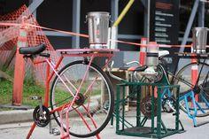 bike powered blender, via Flickr.