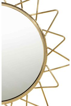 Round mirror - Gold - Home All | H&M GB