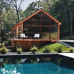 #allofarchitecture Hudson Woods by Lang Architecture Photo by Ty Cole