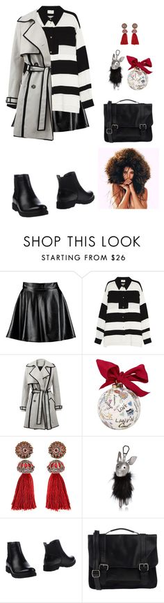 """""""Lanvin For Christmas"""" by annasokolove ❤ liked on Polyvore featuring Boohoo, Lanvin, Kendall + Kylie and ONLY"""