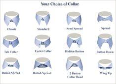 I colli per le camicie: guida su come scegliere il giusto colletto. Il Blog del Marchese: blog di moda maschile.