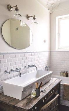 20 photos de salles de bains blanches