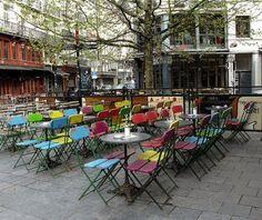 Zebra cafe in St Gery