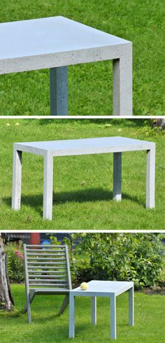 TRUE LATVIA designer FLO - concrete outdoor furniture  $804.4  1EUR=1.36380USD http://truelatvia.lv/en/true-ziimoli-452721/flo-en