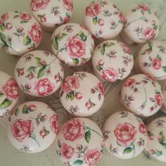 Your place to buy and sell all things handmade Rosa Shabby Chic, Shabby Chic Drawer Knobs, Butterfly Bedroom, Free Standing Letters, Mirrored Furniture, Floral Theme, Color Rosa, Handmade Items, Handmade Gifts