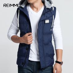 >> Click to Buy << 2017 New Arrival Sleeveless Hoodie Vest Oversized Mens Waistcoats High Quality Sleeveless Jacket mens Famous Brand  warm vest #Affiliate